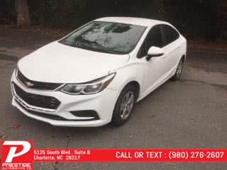 Used 2017 Chevrolet Cruze in Charlotte, North Carolina | Prestige Automotive Companies. Charlotte, North Carolina