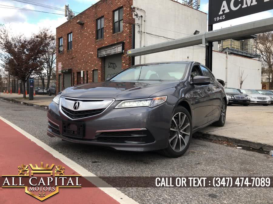 2017 Acura TLX FWD V6 w/Technology Pkg, available for sale in Brooklyn, New York | All Capital Motors. Brooklyn, New York