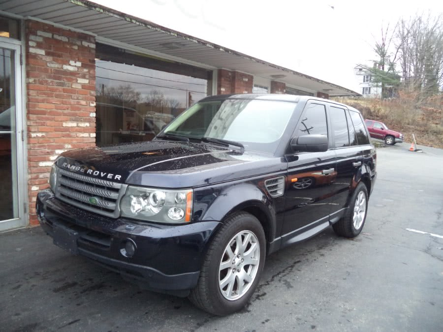 Used 2008 Land Rover Range Rover Sport in Naugatuck, Connecticut | Riverside Motorcars, LLC. Naugatuck, Connecticut