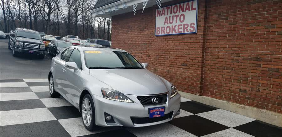 Used Lexus IS 250 4dr Sport Sdn Auto AWD 2011 | National Auto Brokers, Inc.. Waterbury, Connecticut