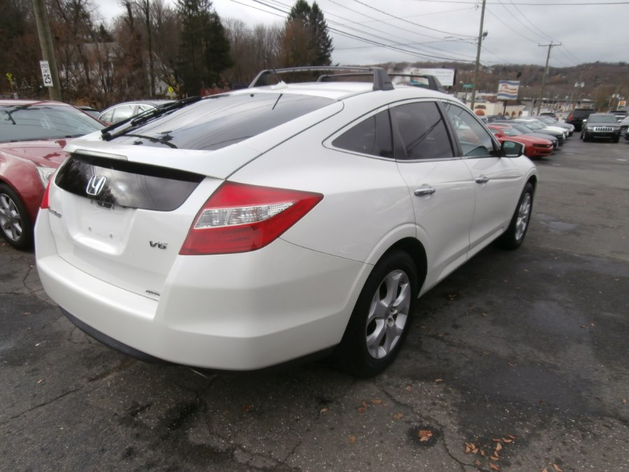 2012 Honda Crosstour 4WD V6 5dr EX-L w/Navi, available for sale in Waterbury, Connecticut | Jim Juliani Motors. Waterbury, Connecticut