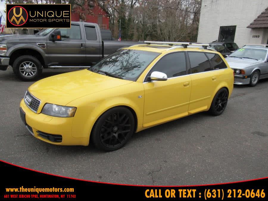 Used Audi S4 5dr Wgn Avant quattro AWD Man 2004 | Unique Motor Sports. Huntington, New York