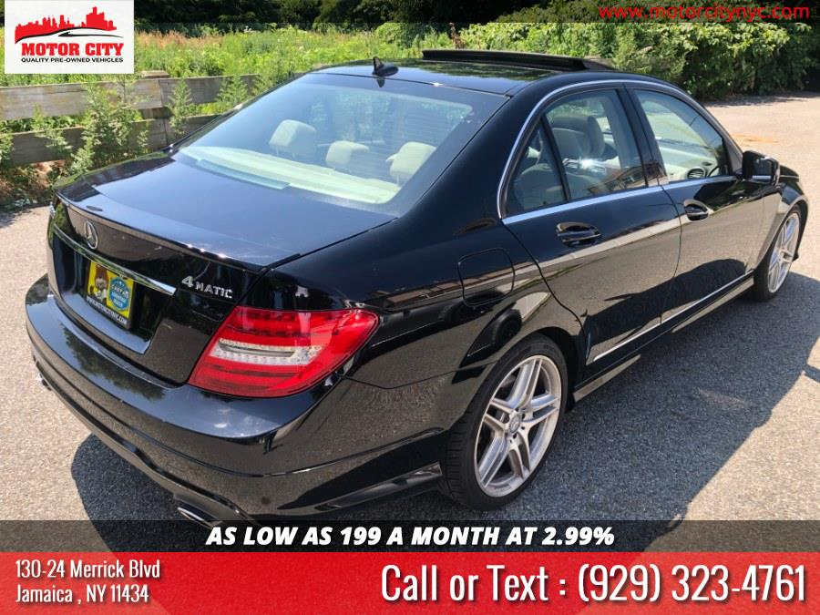 2013 Mercedes-Benz C-Class 4dr Sdn C300 Sport 4MATIC, available for sale in Jamaica, New York   Motor City. Jamaica, New York