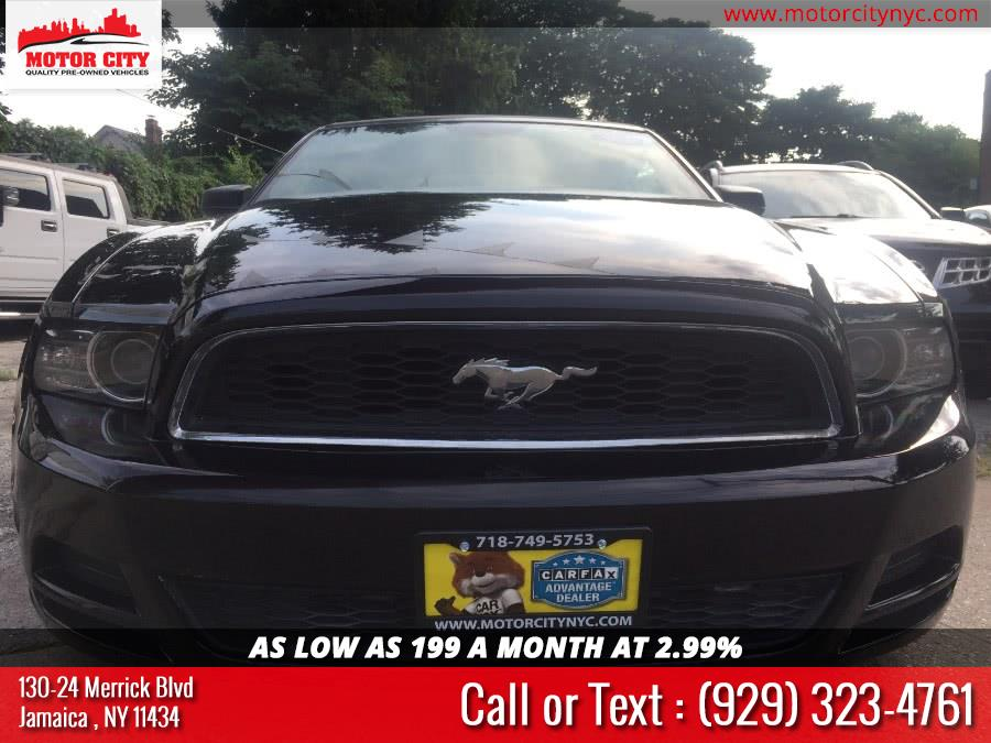 2014 Ford Mustang 2dr Conv V6 Premium, available for sale in Jamaica, New York | Motor City. Jamaica, New York