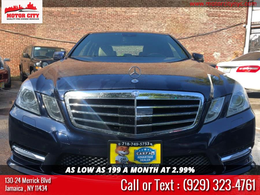 Used Mercedes-Benz E-Class 4dr Sdn E550 Sport 4MATIC 2012 | Motor City. Jamaica, New York