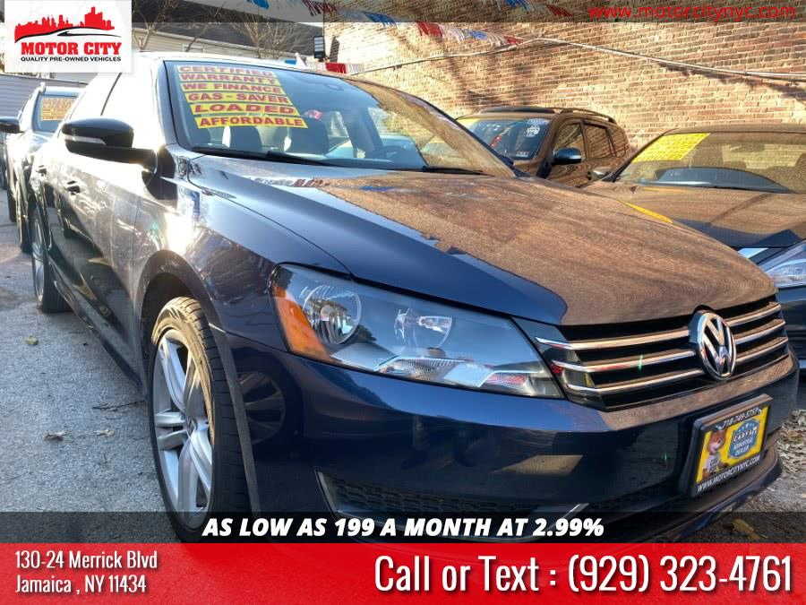 Used 2014 Volkswagen Passat in Jamaica, New York | Motor City. Jamaica, New York