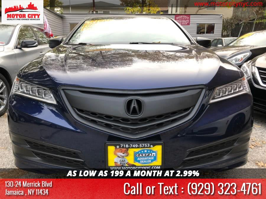 Used Acura TLX 4dr Sdn FWD V6 Tech 2015 | Motor City. Jamaica, New York
