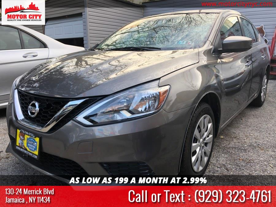 2016 Nissan Sentra 4dr Sdn I4 CVT SV, available for sale in Jamaica, New York | Motor City. Jamaica, New York