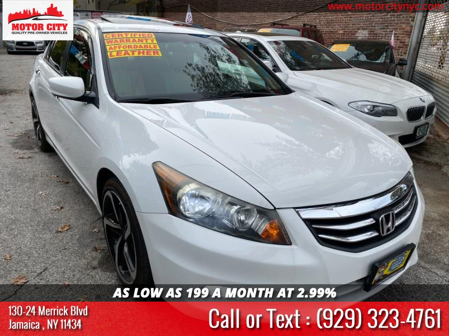Used 2012 Honda Accord Sdn in Jamaica, New York | Motor City. Jamaica, New York