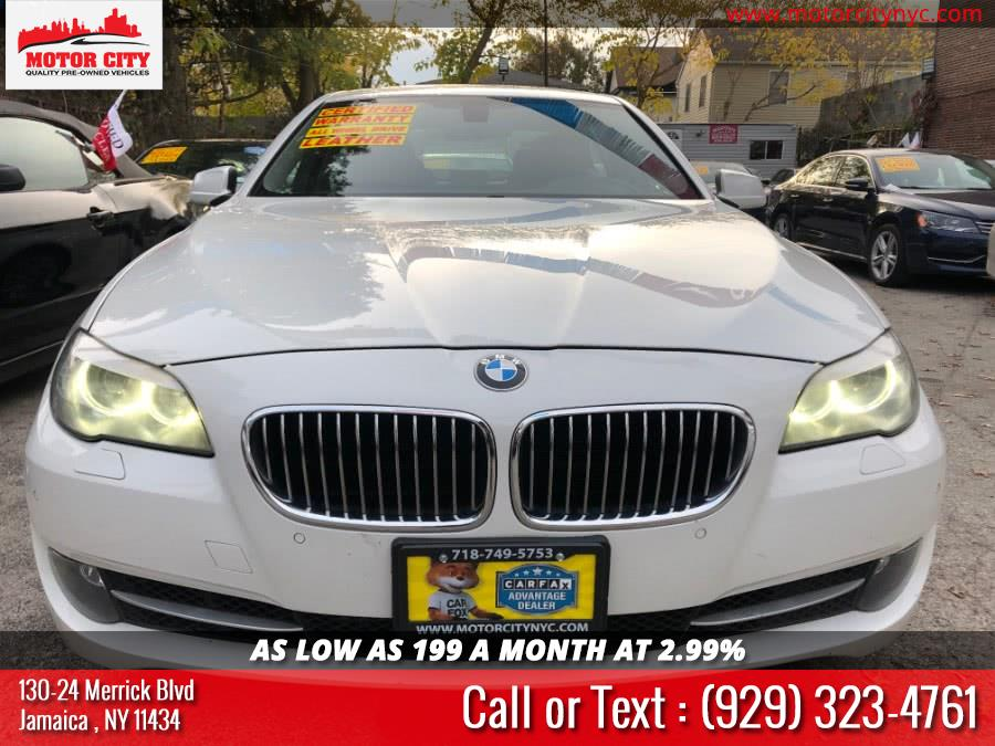 2013 BMW 5 Series 4dr Sdn 535i xDrive AWD, available for sale in Jamaica, New York | Motor City. Jamaica, New York