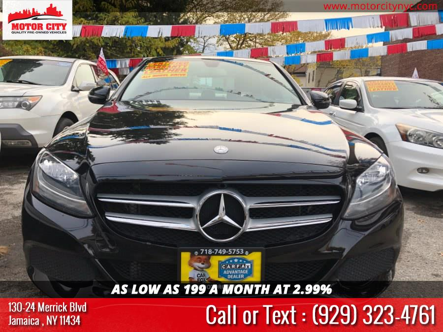 Used Mercedes-Benz C-Class 4dr Sdn C 300 Luxury 4MATIC 2016 | Motor City. Jamaica, New York