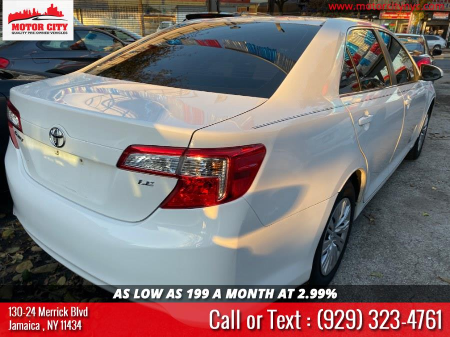 2013 Toyota Camry 4dr Sdn I4 Auto LE (Natl), available for sale in Jamaica, New York | Motor City. Jamaica, New York