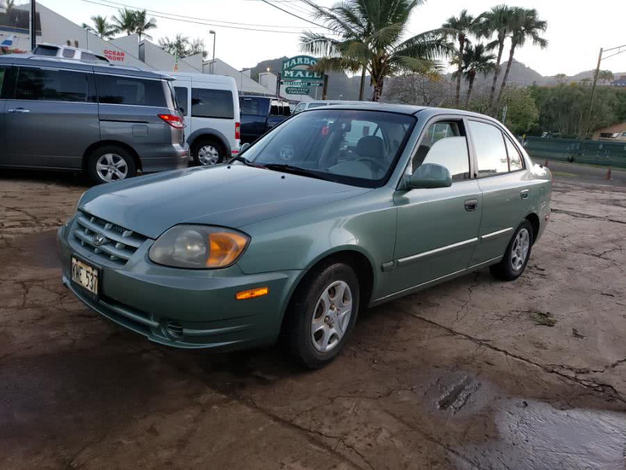 New 2005 Hyundai Accent in Lihue, Hawaii | Harbor Motors Inc. Lihue, Hawaii