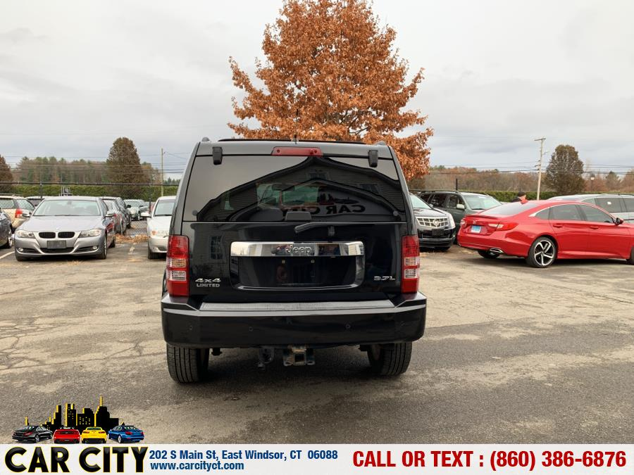 Used Jeep Liberty 4WD 4dr Limited 2008 | Car City LLC. East Windsor, Connecticut