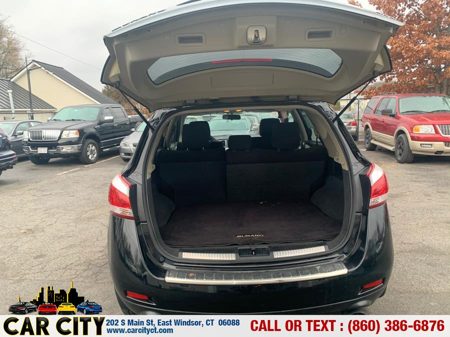 2011 Nissan Murano AWD 4dr S, available for sale in East Windsor, Connecticut | Car City LLC. East Windsor, Connecticut