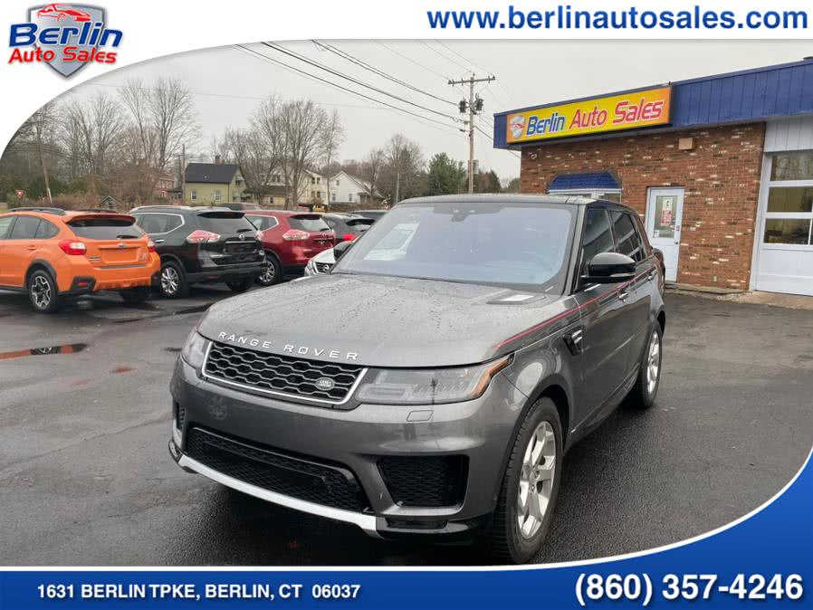 Used 2019 Land Rover Range Rover Sport in Berlin, Connecticut | Berlin Auto Sales LLC. Berlin, Connecticut