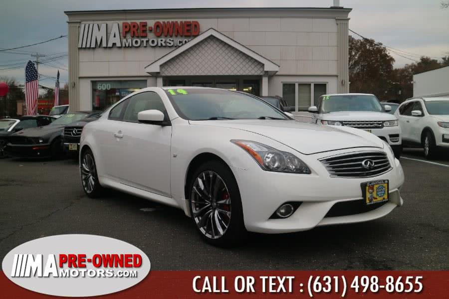 Used 2014 Infiniti Q60 Coupe in Huntington, New York | M & A Motors. Huntington, New York