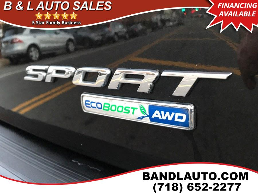 2015 Ford Edge 4dr Sport AWD, available for sale in Bronx, New York | B & L Auto Sales LLC. Bronx, New York