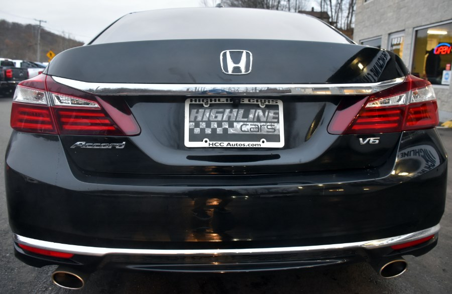 2017 Honda Accord Sedan EX-L V6 Auto, available for sale in Waterbury, Connecticut | Highline Car Connection. Waterbury, Connecticut