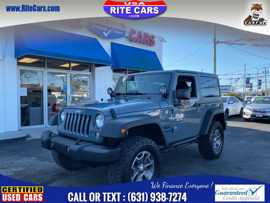 Used 2015 Jeep Wrangler in Lindenhurst, New York | Rite Cars, Inc. Lindenhurst, New York