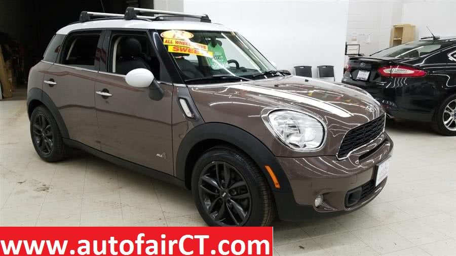 2013 MINI Cooper Countryman AWD 4dr S ALL4, available for sale in West Haven, CT