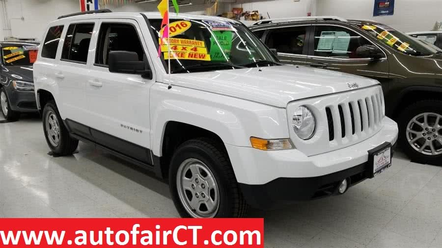 Used 2016 Jeep Patriot in West Haven, Connecticut