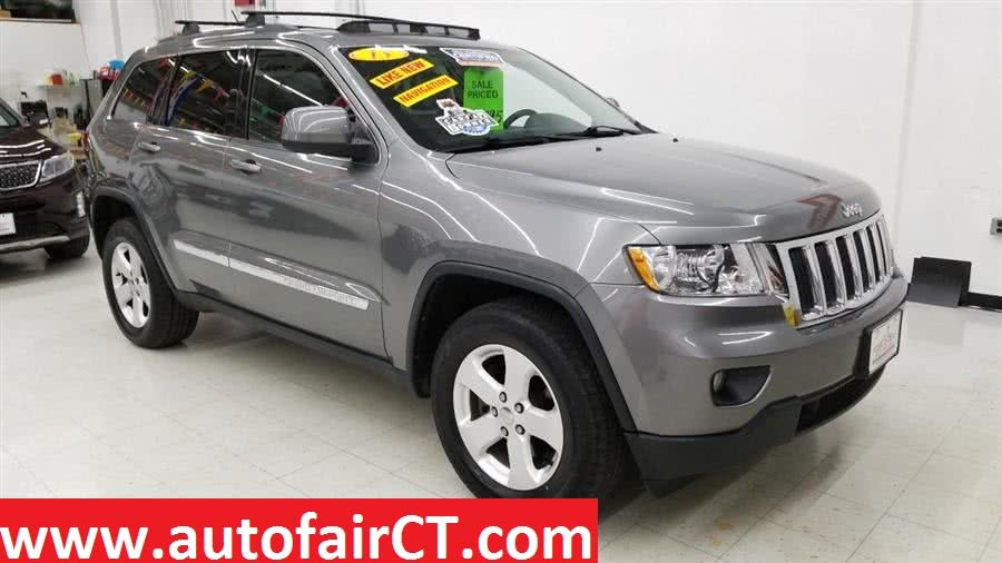 2013 Jeep Grand Cherokee 4WD 4dr Laredo, available for sale in West Haven, CT