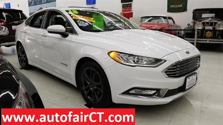 Used 2018 Ford Fusion Hybrid in West Haven, Connecticut