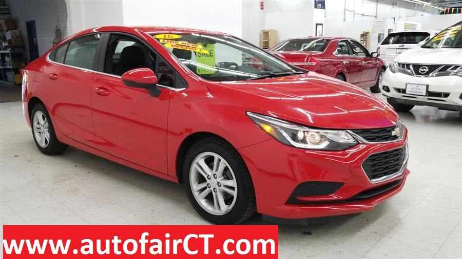 Used 2016 Chevrolet Cruze in West Haven, Connecticut