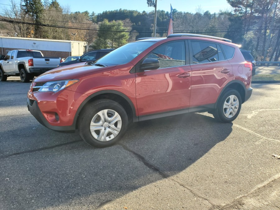 2013 Toyota RAV4 AWD 4dr LE (Natl), available for sale in Thomaston, CT