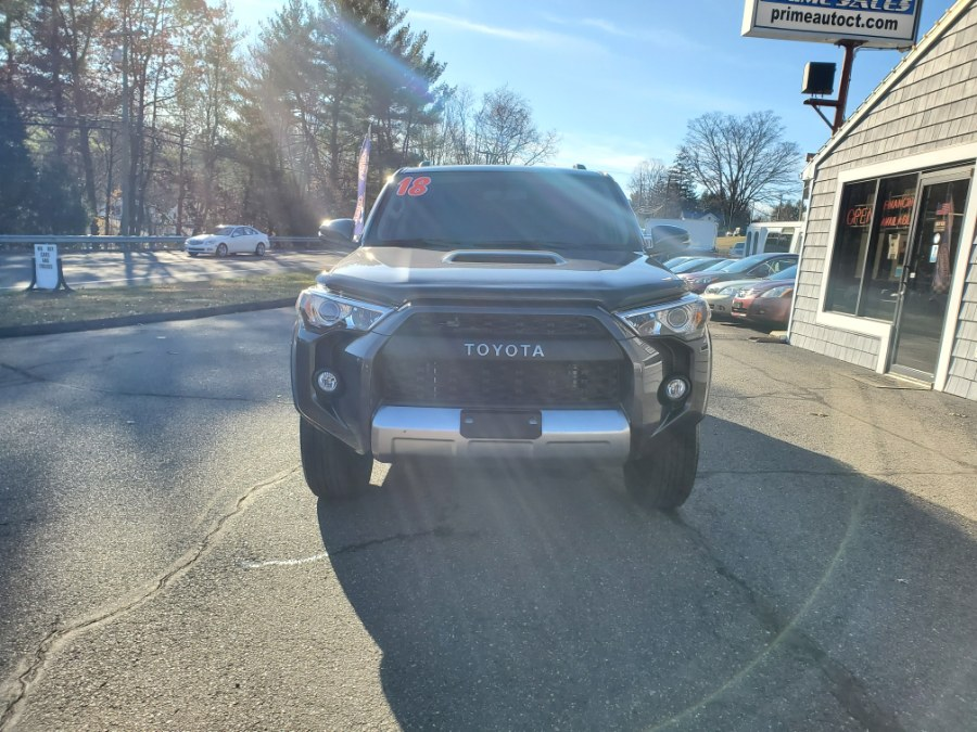 2018 Toyota 4Runner TRD Off Road Premium 4WD (Natl), available for sale in Thomaston, CT