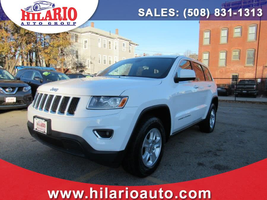 2015 Jeep Grand Cherokee 4WD 4dr Laredo, available for sale in Worcester, Massachusetts | Hilario's Auto Sales Inc.. Worcester, Massachusetts