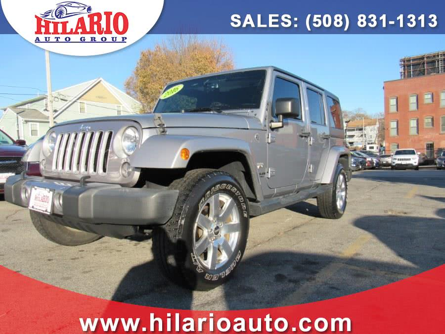 Used 2016 Jeep Wrangler Unlimited in Worcester, Massachusetts | Hilario's Auto Sales Inc.. Worcester, Massachusetts