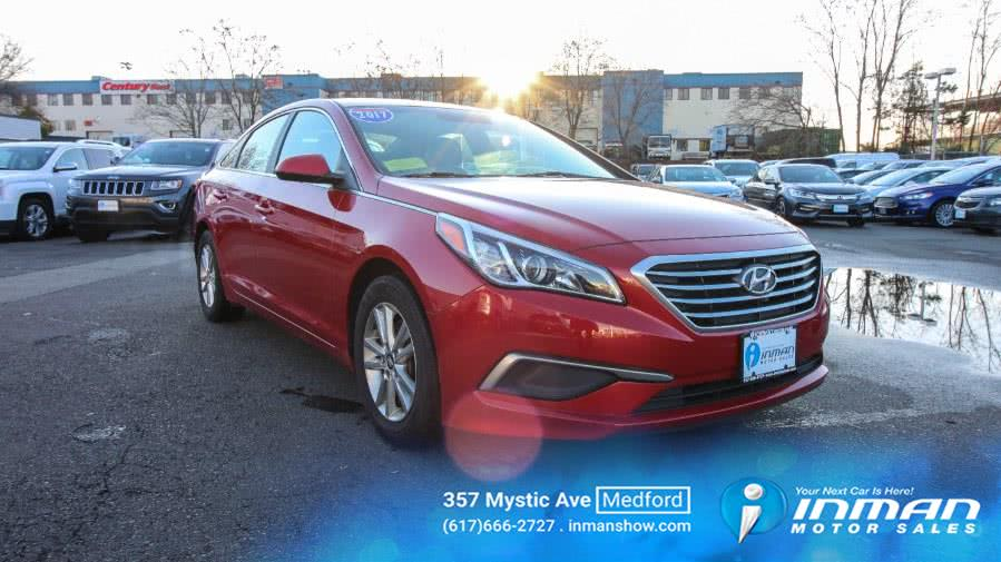 Used 2017 Hyundai Sonata in Medford, Massachusetts | Inman Motors Sales. Medford, Massachusetts