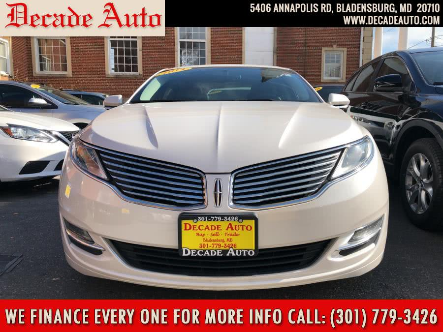 Used 2014 Lincoln MKZ in Bladensburg, Maryland | Decade Auto. Bladensburg, Maryland