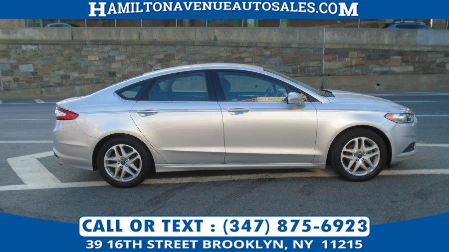 Used Ford Fusion 4dr Sdn SE FWD 2014 | Hamilton Avenue Auto Sales DBA Nyautoauction.com. Brooklyn, New York