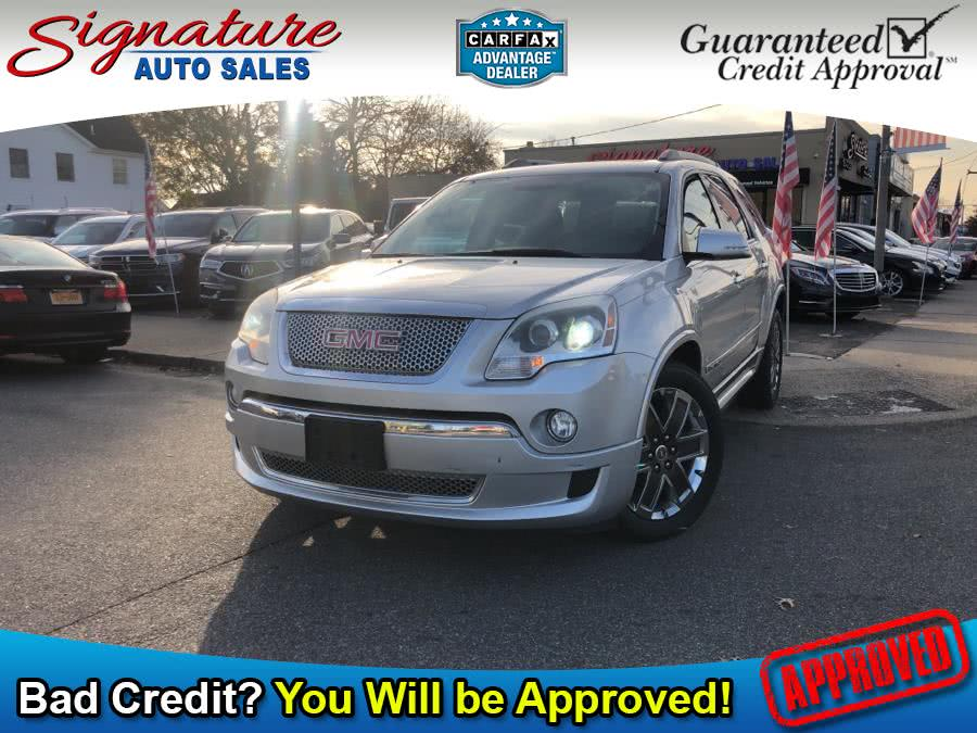 Used 2012 GMC Acadia in Franklin Square, New York | Signature Auto Sales. Franklin Square, New York