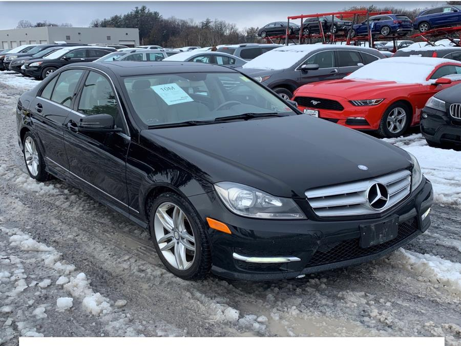 2013 Mercedes-Benz C-Class 4dr Sdn C300 Luxury 4MATIC, available for sale in Manchester, Connecticut | Best Auto Sales LLC. Manchester, Connecticut