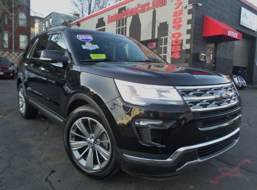 Used 2018 Ford Explorer in Chelsea, Massachusetts | Boston Prime Cars Inc. Chelsea, Massachusetts