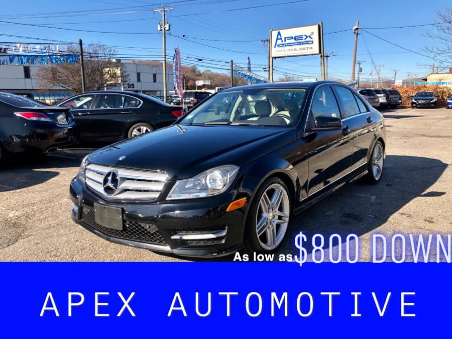 Used Mercedes-Benz C-Class 4dr Sdn C300 Sport 4MATIC 2012 | Apex  Automotive. Waterbury, Connecticut
