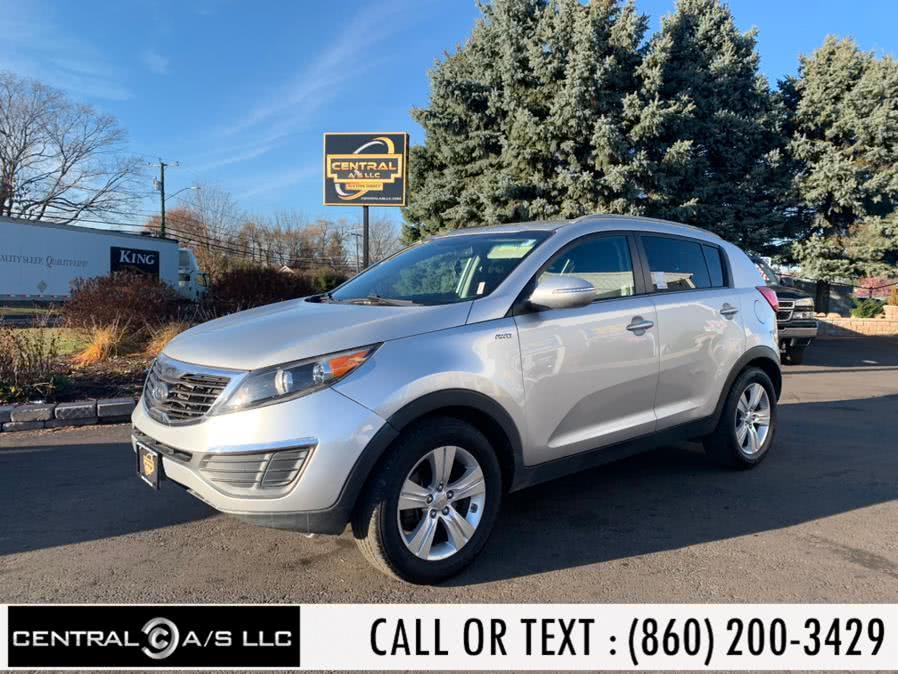 Used Kia Sportage AWD 4dr LX 2011 | Central A/S LLC. East Windsor, Connecticut