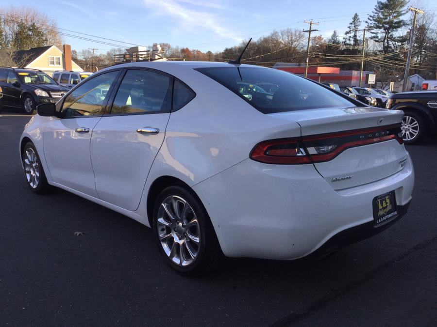 2013 Dodge Dart 4dr Sdn Limited, available for sale in Plantsville, Connecticut | L&S Automotive LLC. Plantsville, Connecticut