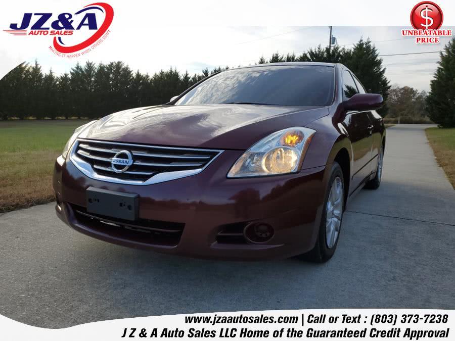 Used Nissan Altima 4dr Sdn I4 CVT 2.5 S 2011 | J Z & A Auto Sales LLC. York, South Carolina