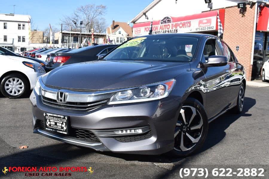 Used Honda Accord Sedan 4dr I4 CVT EX 2016 | Foreign Auto Imports. Irvington, New Jersey