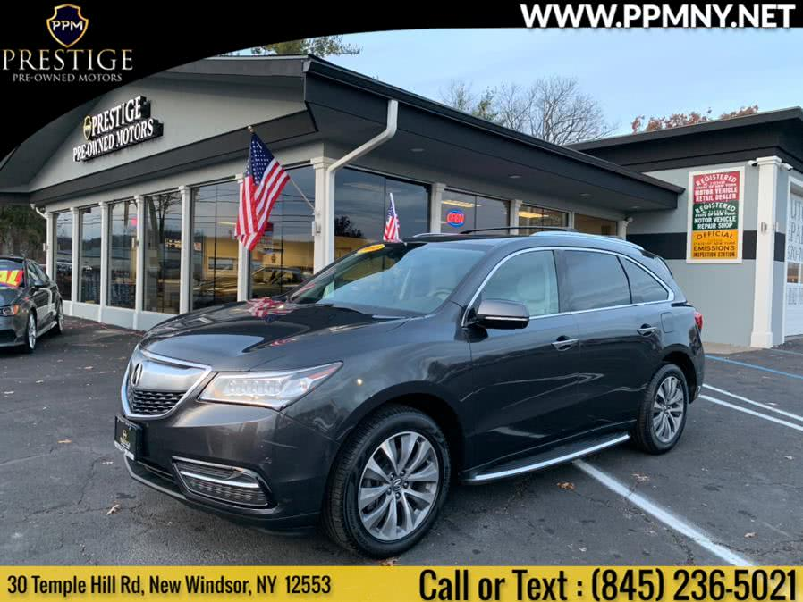 Used Acura MDX SH-AWD 4dr Tech Pkg 2015 | Prestige Pre-Owned Motors Inc. New Windsor, New York
