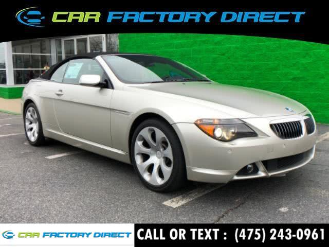 Used BMW 6 Series 650i Navigation Sport 2007 | Car Factory Direct. Milford, Connecticut