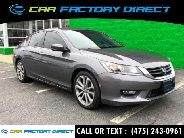 Used 2014 Honda Accord Sedan in Milford, Connecticut | Car Factory Direct. Milford, Connecticut