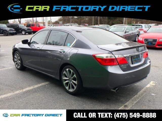 2014 Honda Accord Sedan Sport, available for sale in Milford, Connecticut | Car Factory Direct. Milford, Connecticut