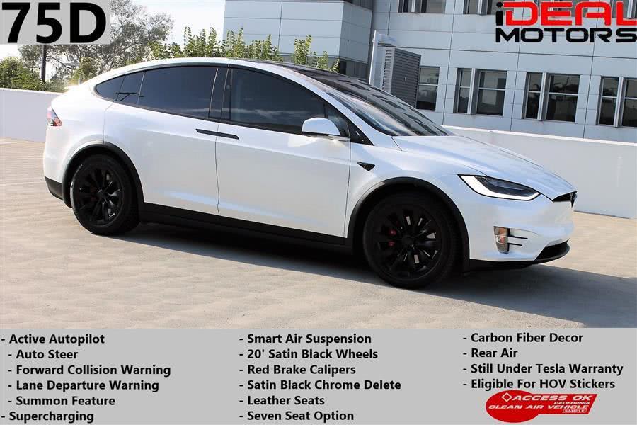 Used 2017 Tesla Model x in Costa Mesa, California   Ideal Motors. Costa Mesa, California