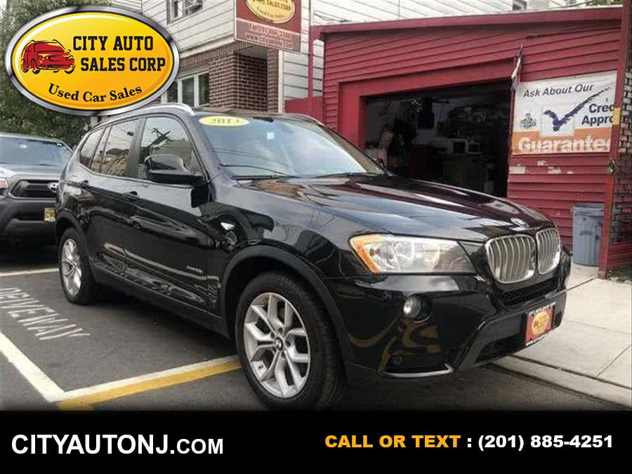 Used 2013 BMW X3 in Union City, New Jersey | City Auto Sales Corp. Union City, New Jersey